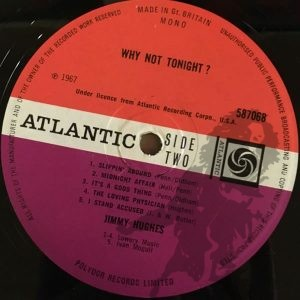 Jimmy Hughes - Why Not Tonight