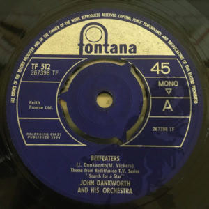 John Dankworth & His Orchestra  - Beefeaters