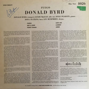 Donald Byrd - Fuego - Blue Note