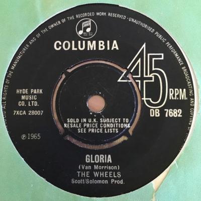 The Wheels - Gloria DB 7682