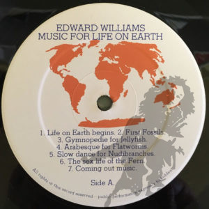Edward Williams - Music for life on earth
