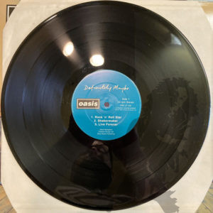 Oasis - Definitely Maybe CRE LP 169